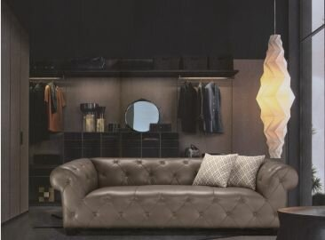 "Sofa ""CARLTON"" – luxuriöses Chesterfield"