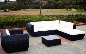 Rattan Lounge Baidani Eternity