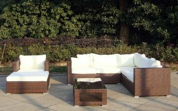 Rattan Lounge Baidani Sunset