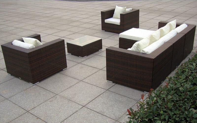 rattan lounge baidani daydreamer xxl trend shop baden. Black Bedroom Furniture Sets. Home Design Ideas