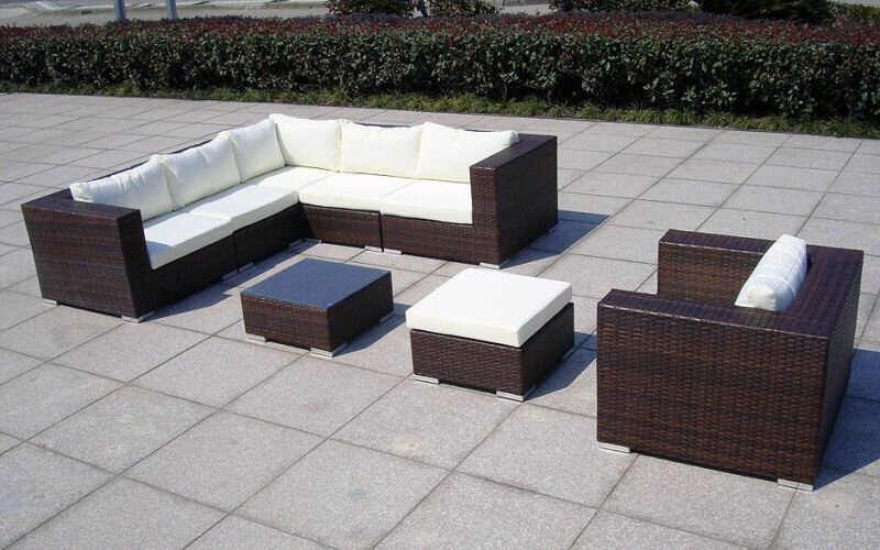 rattan lounge baidani gardendream trend shop baden. Black Bedroom Furniture Sets. Home Design Ideas
