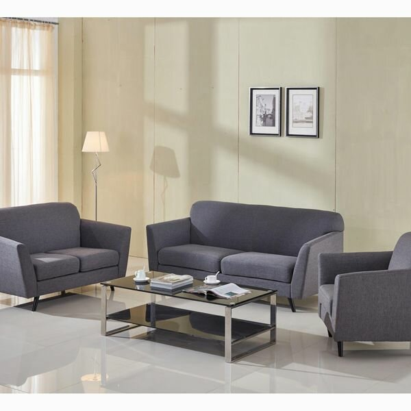 abbey zweisitzer graues sofa trend shop baden. Black Bedroom Furniture Sets. Home Design Ideas
