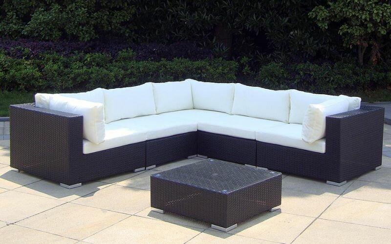 rattan lounge baidani sunshine trend shop baden. Black Bedroom Furniture Sets. Home Design Ideas