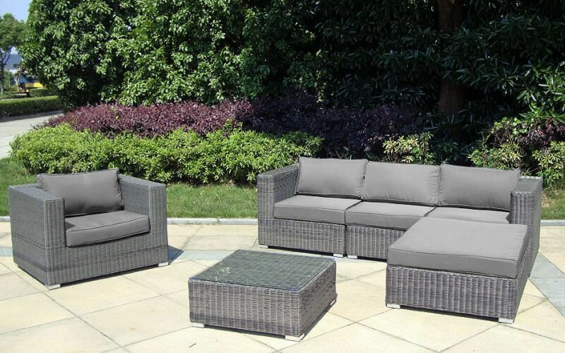 rattan lounge baidani rounde shining trend shop baden. Black Bedroom Furniture Sets. Home Design Ideas