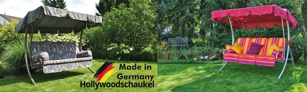 Hollywoodschaukel Made in Germany